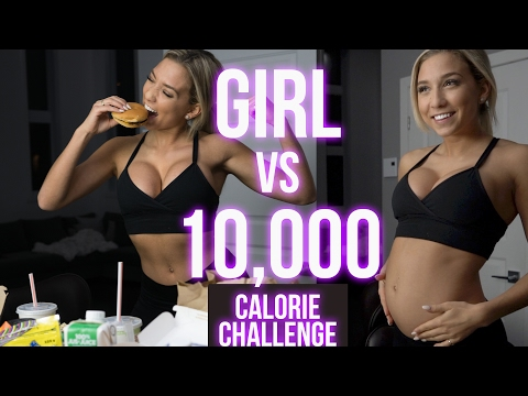 10,000 Calorie Challenge | GIRL Vs FOOD | EPIC CHEAT DAY