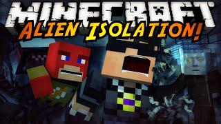 Minecraft Horror Map : ALIEN ISOLATION!