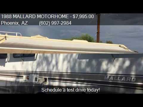 1988 MALLARD MOTORHOME for sale in Phoenix, AZ 85020 at AUT