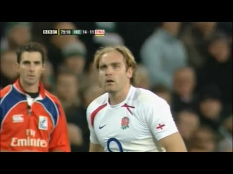 20 seconds of great play by Andy Goode vs Ireland 2009