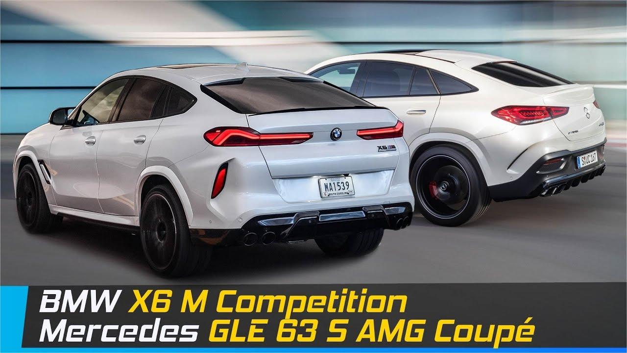 BMW X6 M Competition Vs Mercedes GLE 63 S AMG Coupe | Design & Specs Comparison