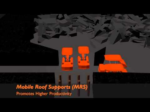 Fletcher Mobile Roof Supports® Retreat Mining