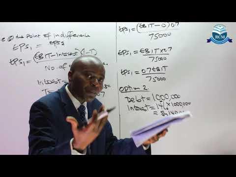 ADVANCED FINANCIAL MANAGEMENT - FINANCIAL DECISIONS -LESSON 1