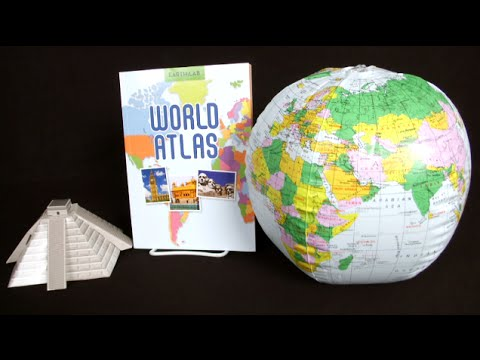 Earth Lab World Atlas from Silver Dolphin Books
