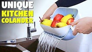 New Strainer    3 in 1 Kitchen Colander Strainer