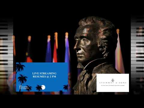 CHOPIN COMPETITION DAY 4 - Quarter - Finals: PART I