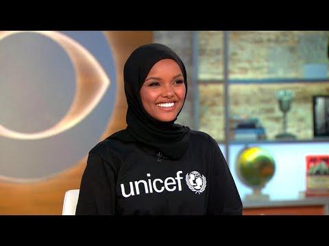 Halima Aden on being a UNICEF ambassador, returning to refugee camp