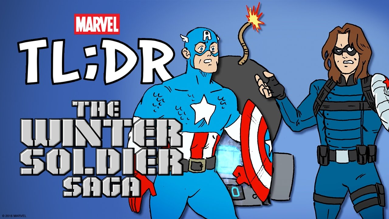 What is The Winter Soldier Saga? - Marvel TL;DR - YouTube