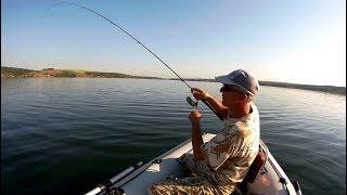 Как с Серёгой нашли рыбу??? Рыбалка на спиннинг с подписчиком...