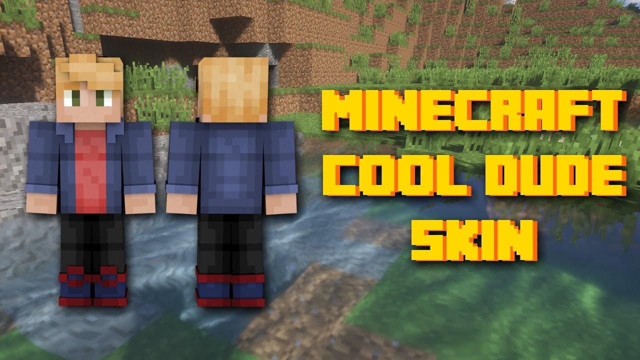 minecraft cool dude skin youtube