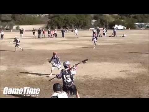 Aiden Pincombe '18 - Lacrosse Highlights - 2015