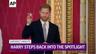 ShowBiz Minute: Prince Harry, Johnson, King