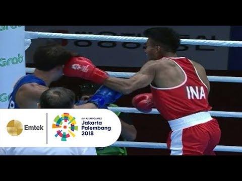Cuplikan Pertandingan Sengit Tinju Putra Indonesia Vs Korea Selatan | Gelora Asian Games 2018