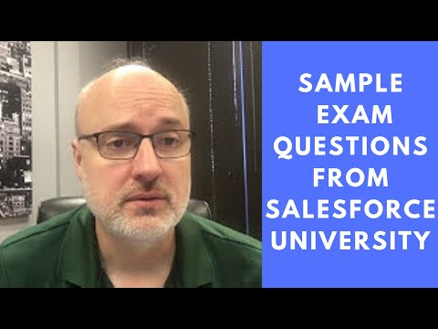 Sample Exam Questions from Salesforce University