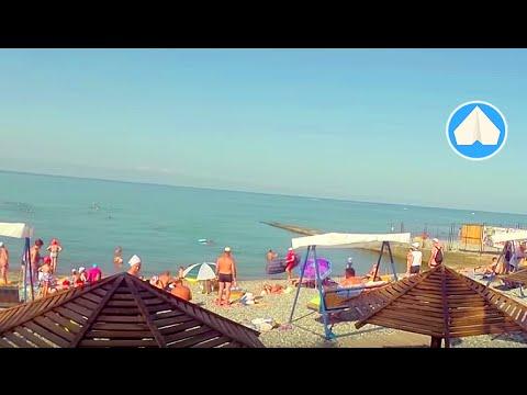 адлер фото пляжа и набережной