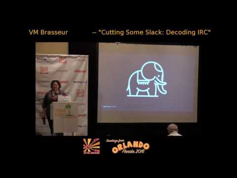 Cutting Some Slack: Decoding IRC