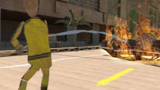 Fire in Cardboard City trailer thumbnail
