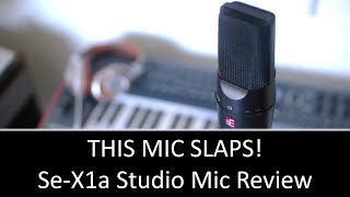 sE X1A studio Condenser Mic Review [Studio Talks]