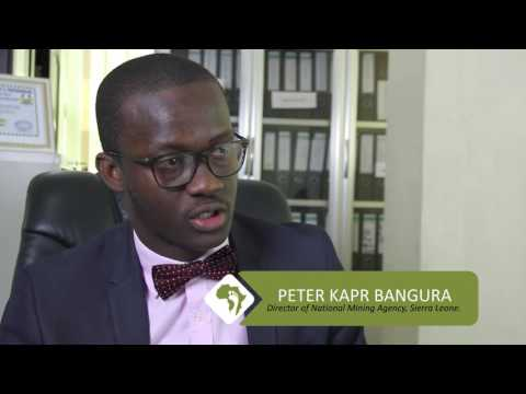 Footprint to Africa interviews Peter K. Bangura, Director of National Mining Agency, Sierra Leone