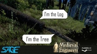 Medieval Engineers, Tree Cutting, & Refining (update 02.010)
