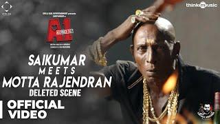 A1 Deleted Scene 02 Saikumar Meets Motta Rajendran Santhanam Santhosh Narayanan Johnson K