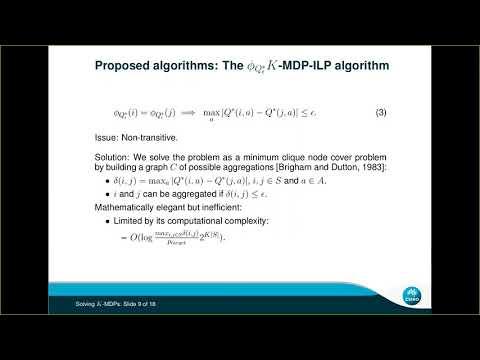 """ICAPS 2020: Ferrer-Mestres et al. on """"Solving K-MDPs"""""""