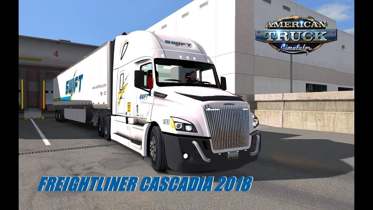 [ATS Truck Mods] Freightliner Cascadia 2018 ATS Mod | Bought A New Truck!