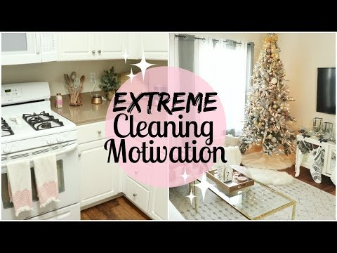 CLEAN MY HOUSE WITH ME 2017 | DEEP CLEAN THE ENTIRE DOWNSTAIRS | EXTREME CLEANING MOTIVATION