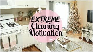 CLEAN MY HOUSE WITH ME 2017   DEEP CLEAN THE ENTIRE DOWNSTAIRS   EXTREME CLEANING MOTIVATION