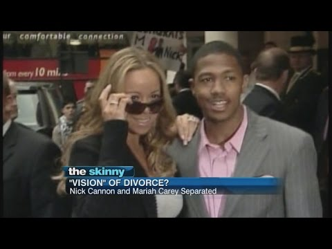 SKINNY: Mariah Carey and Nick Cannon are reportedly getting divorced