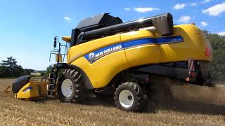 Pierwsze Żniwa 2018 ✔ | New Holland cx 5080 Elevation | Jęczmień Ozimy