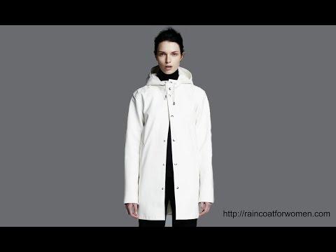 Stutterheim Arholma White Raincoat