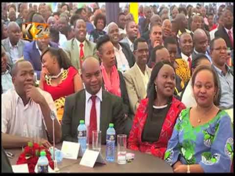 Rais Kenyatta amekutana na viongozi wa kati mwa nchi, Sagana