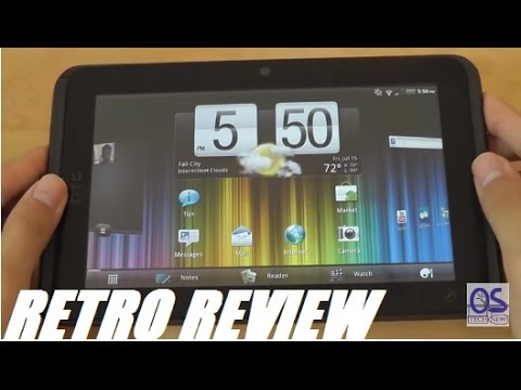 htc flyer tablet. Retro Review: HTC Evo View 4G [HTC Flyer] Android Tablet Htc Flyer