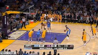 Carmelo Anthony - 34 points vs Lakers Full Highlights (2009 WCF GM2) (2009.05.21)