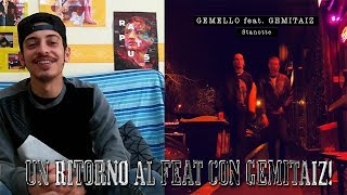 #Gemello #Gemitaiz #Stanotte REACTION Gemello feat. Gemitaiz - Stanotte (Prod. By Sine)