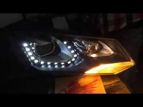 2011 touareg headlight bulb replacement