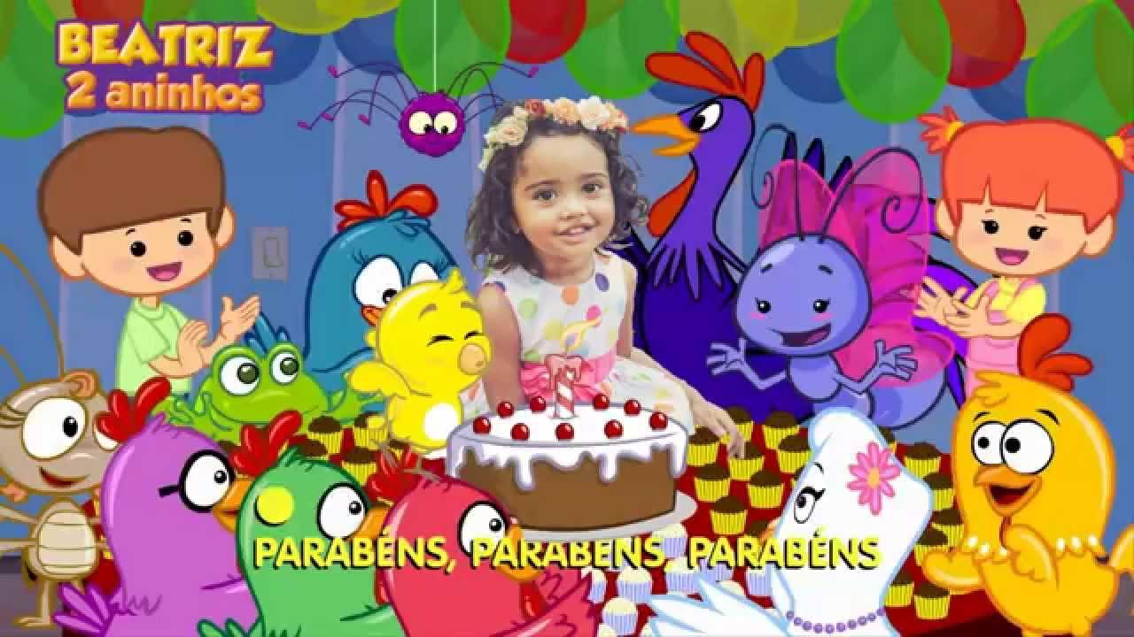 Parabéns Da Galinha Pintadinha Beatriz 2 Aninhos Youtube