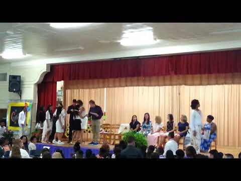 Larrymore Elementary School Fifth 5th Grade Graduation - LILLY FREEZE (Part #3)