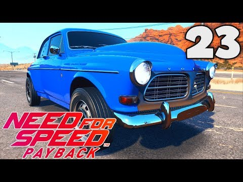 NEED FOR SPEED PAYBACK (FR) - 23 : LA VOLVO AMAZON P130 ! [VOITURE ABANDONNÉE]