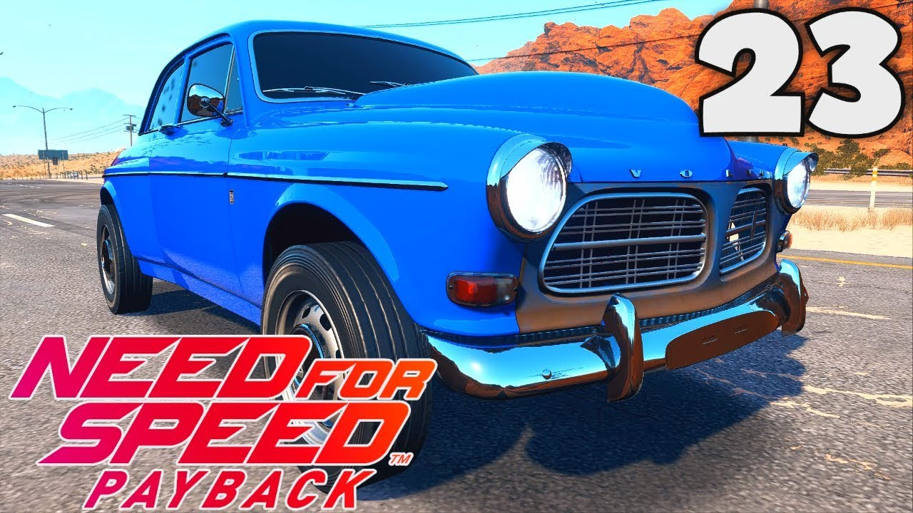 need for speed payback fr 23 la volvo amazon p130 voiture abandonn e youtube. Black Bedroom Furniture Sets. Home Design Ideas