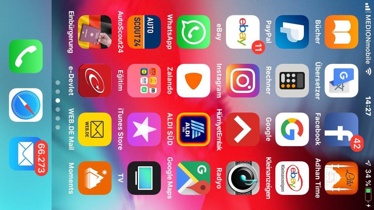 Pin Der Sim Karte ändern.Iphone Sim Karte Pin ändern Pin Entfernen 6 7 8 X Ios 12 2 3 2019 Neu Bitte Abo
