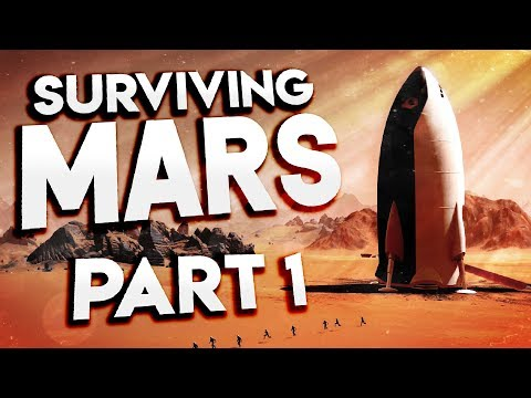 Surviving Mars - WATER FOUND ON MARS! - New Space Colony Survival - Surviving Mars Gameplay Part 1