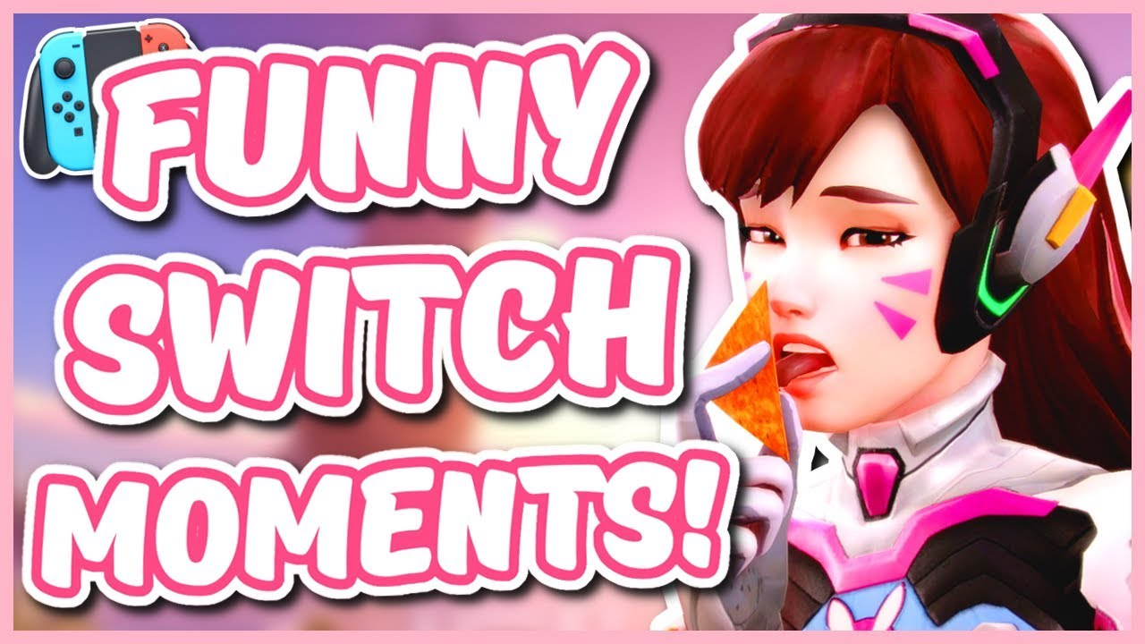 Overwatch - THE #1 OVERWATCH PLAYER ON THE SWITCH (Funny Moments) thumbnail