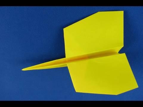 Floating Paper Airplane aereo di carta aereo concorde tutorial - YouTube bc1a819a148e