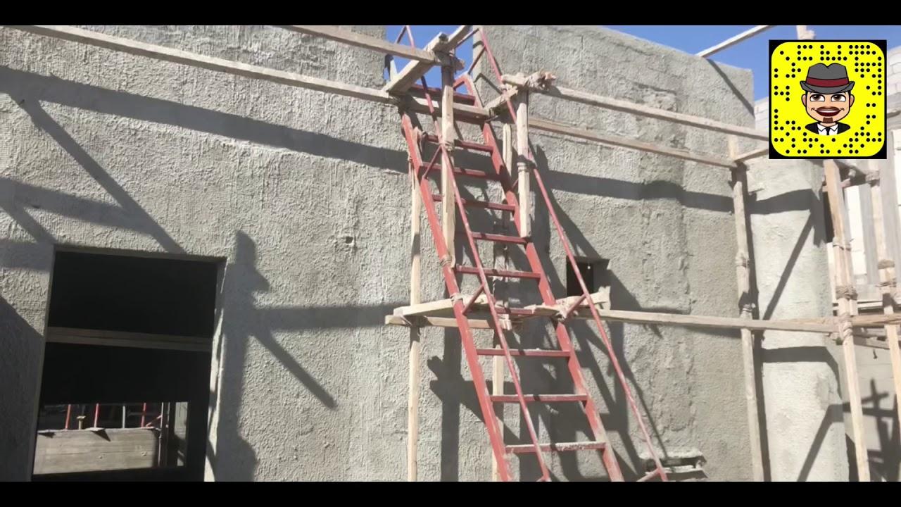 طريقة عمل سلم حديد ل ملحق السطح بيت الدرج Youtube