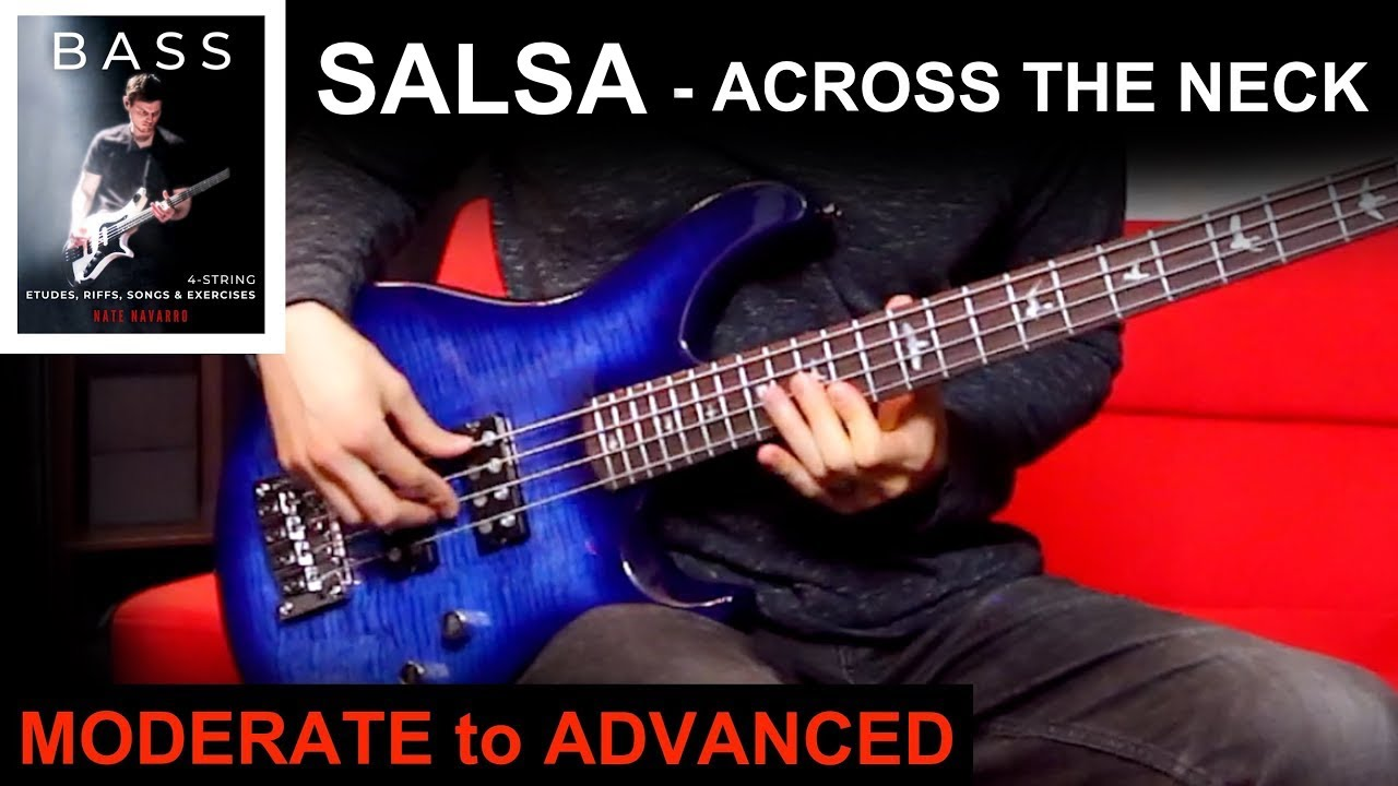 SAMBA - Across the Neck & One Finger Plucking   BASS BOOK Moderate to Advanced Ex: 1