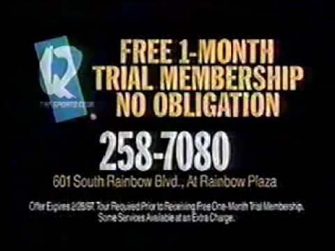 Q Fitness Club Las Vegas 1995