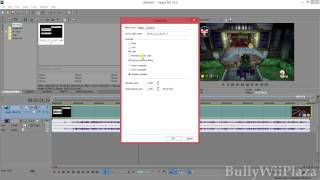 [Sony Vegas Pro 13] How To Set Default Video Clip Switches?
