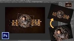 Easy Digital Backdrop Tutorial   Better Newborn Photos with Varieties of Digital Backgrounds